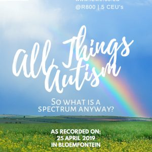All things Autism DVD